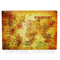 """Обложка для паспорта """"Мир в твоих руках"""""""