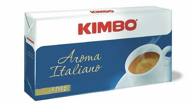 Кофе молотый Kimbo Aroma Italiano Quatro 1 кг.