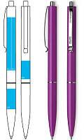 Ручка Schneider K 15 черная смородина