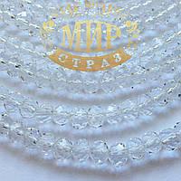 Рондели стекло 2х4мм Цвет Crystal  1шт
