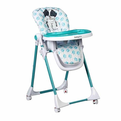 Стульчик для кормления BabyHit Juicy - Turquoise
