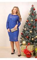 Женское Платье Дороти синее (48-88)