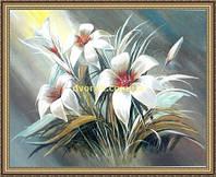 Картина в багетной раме Букет 200х240мм №658