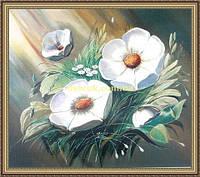 Картина в багетной раме Букет 200х240мм №659