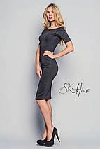 Облегающее черное платье по колени ( sk/ist), фото 3