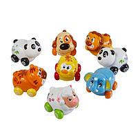 Игрушка Huile Toys Веселый зоопарк (8 штук)