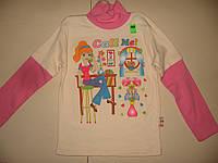 Толстовка (свитшот) на девочку, 7 лет