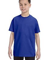 Футболка Gildan® Heavy Cotton™ Youth Tee Cobalt