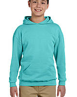 Худи Jerzees® NuBlend® Youth Hooded Pullover Scuba Blue