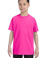 Футболка Gildan® Heavy Cotton™ Youth Tee Azalea