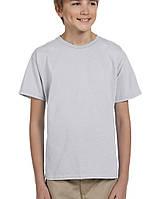 Футболка Gildan® Ultra Cotton® Youth Tee Ash Grey