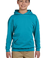 Худи Jerzees® NuBlend® Youth Hooded Pullover California Blue