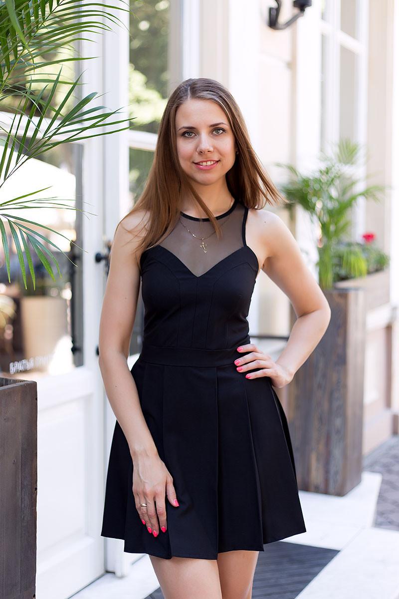 Платье женское летнее юбка в складку