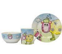 Набор детской посуды KERAMIA Овечка 21-272-041