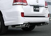 Накладка задняя Lexus LX570