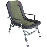Экстра сильное рыбацкое кресло с подлокотниками CZ HEAVY DUTY ARMCHAIR 150+