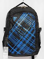 Рюкзак adidas клетка синий, фото 1