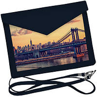 Клатч конверт Бруклинский мост