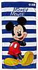 Полотенце Mickey Mouse для мальчика, размер 65х118 см