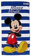 Полотенце Mickey Mouse для мальчика, размер 65х118 см, фото 1