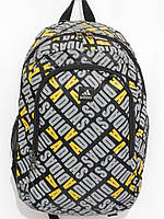 Рюкзак adidas буквы серый, фото 1