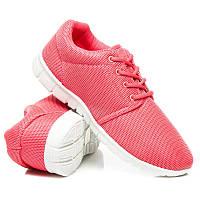 Женские кроссовки розовые для фитнеса (беговые)