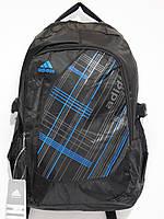 Рюкзак adidas абстракция синий, фото 1