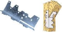 Угольник гнутый KG1 120x40x40x2,0