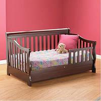 """Уютная кровать из дерева для девочки """"Софа"""""""