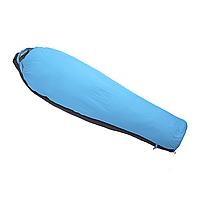 Спальный мешок зимний RedPoint Corbett S left (голубой/черный), фото 1