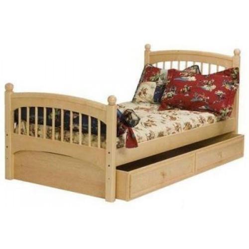 """Красивая детская кровать  для девочек """"Арфа"""""""