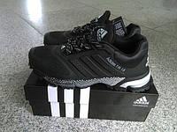 Мужские кроссовки Adidas Marathon TR 15 (адидас, адидас марафон тр 15) черные