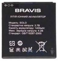 Аккумулятор для Bravis Solo 1400mAh