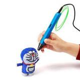 3д ручка RP 800A-LCD дисплей (3D pen) + набір пластику 12 кольорів в подарунок, фото 7