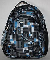 Школьный  рюкзак Dolly серый голубой