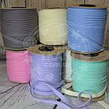 Кант из хлопка, цвет светло-серый, фото 2