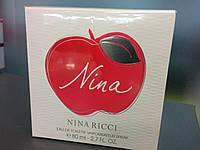 """Nina Ricci """"Nina"""" Eau de toilette vaporisateur spray (Духи красное яблоко) 80мл"""