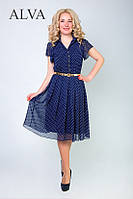 Красивое шифоновое  платье Британи, фото 1