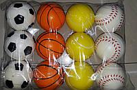Мячи антистрессы спорт