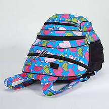 Рюкзак школьный для девочек Dolly 583 сердечки, фото 3