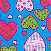 Рюкзак школьный для девочек Dolly 583 сердечки, фото 4