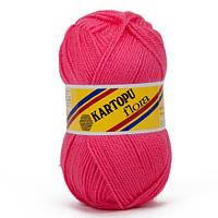 Kartopu Flora - 771 темно рожевий