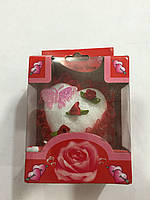 "Сувенир ""Сердце"" в прозрачной упаковке 8,5*10,5см"