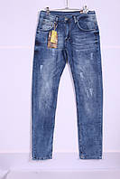Мужские стильные джинсы Slim Fit B.S.K (MARIO) ( код 1793