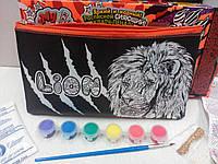 Клатч-раскраска Лев, фото 1