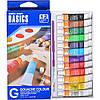 Краски 6 мл BASICS, 12 цветов «Gouache»