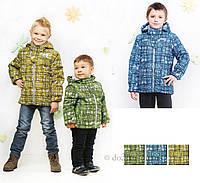 Демисезонная  куртка для мальчика Libellule (Baby Line) V 108-16 р.92 зеленый