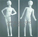 Манекены детские лакированные белые, фото 3