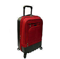 Средний турецкий чемодан полу-пластиковый на четырёх колёсах фирмы CCS