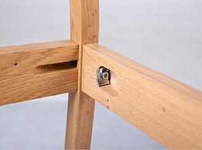 Стул Классик бук твердое сидение орех темный (Микс-Мебель ТМ), фото 2